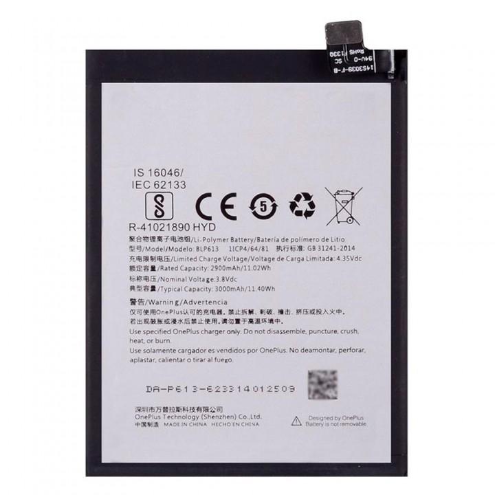 Аккумулятор OnePlus BLP613 для OnePlus 3 (3000 mAh)
