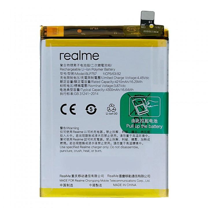 Аккумулятор Oppo BLP757 для Oppo Realme 6 / Realme 6 Pro / Realme 6i (4300 mAh)