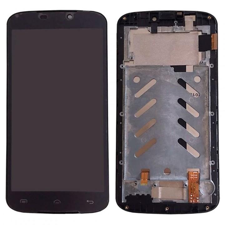 Дисплей Doogee X6 / X6s / X6 Pro с тачскрином (Black) в рамке