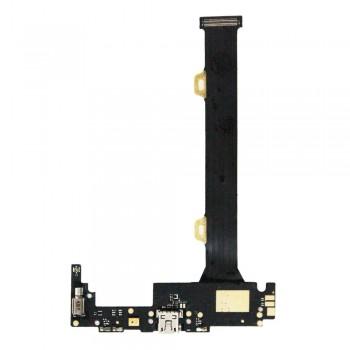 Нижняя плата Lenovo K920 Vibe Z2 Pro с разъемом зарядки и микрофоном