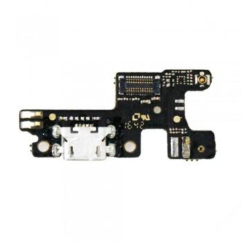 Нижняя плата Lenovo S60 с разъемом зарядки и микрофоном
