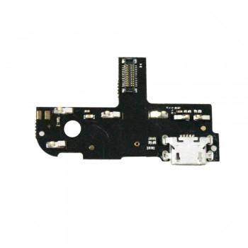 Нижняя плата Lenovo S90 с разъемом зарядки и микрофоном