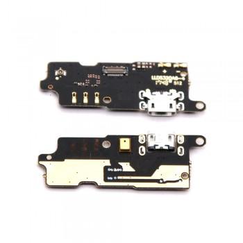 Нижняя плата Lenovo Vibe C2 (K10a40) с разъемом зарядки и микрофоном
