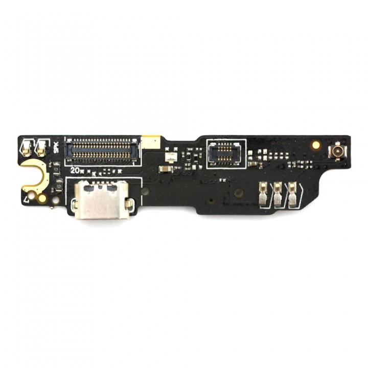 Нижняя плата Meizu M3 Note (L681H) с разъемом зарядки и микрофоном
