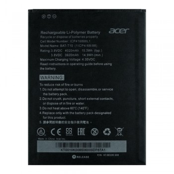 Аккумулятор Acer BAT-T10 (4020 mAh)