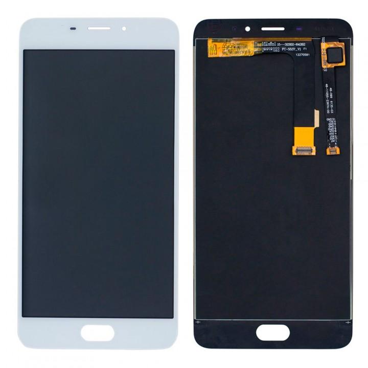 Дисплей Meizu M3E / M1E с тачскрином (White)