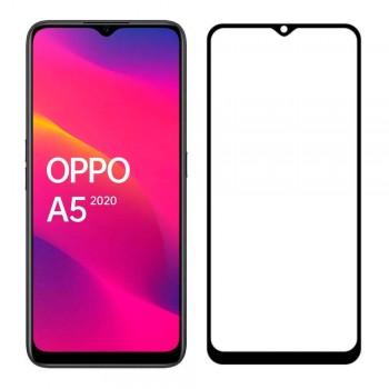 Защитное стекло Full Glue для Oppo A5 2020 / A9 2020 / A11x / Realme 5 (Black)