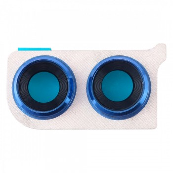 Стекло камеры для Huawei Honor 8X в рамке (Blue)