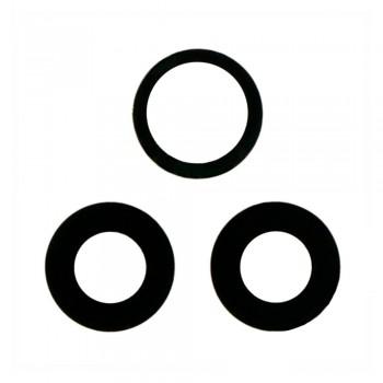 Стекло камеры для Oppo Reno4 5G (Black) (Original PRC)