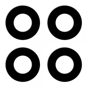 Стекло камеры для Oppo Reno4 Lite (Black) (Original PRC)