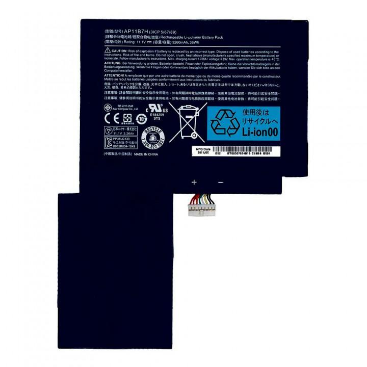 Аккумулятор Acer AP11B7H для Acer Iconia Tab W500 / W501 (3260 mAh)