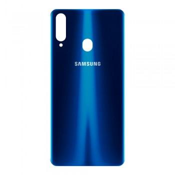 Задняя крышка для Samsung A207 Galaxy A20s (2019) (Blue)