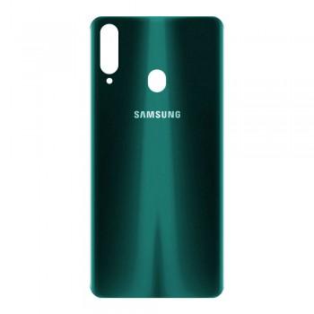 Задняя крышка для Samsung A207 Galaxy A20s (2019) (Green)