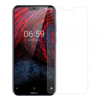 Защитное стекло Tempered Glass 2.5D для Nokia 6.1 Plus (2018) / Nokia X6 (2018)