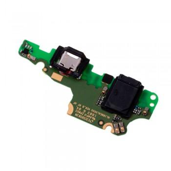Нижняя плата Huawei Mate 10 Lite с разъемом зарядки и микрофоном (Original)