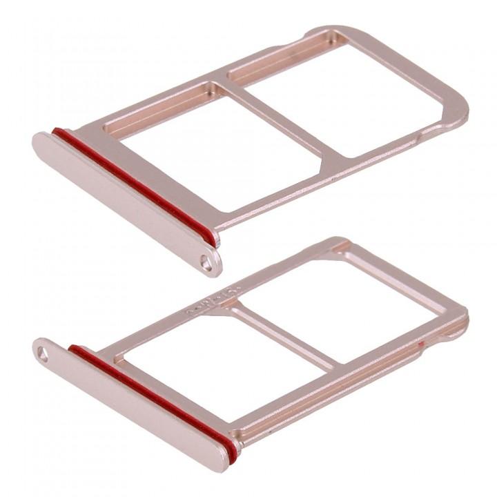 Держатель SIM-карты для Huawei P20 Pro (Pink gold) (Original PRC)