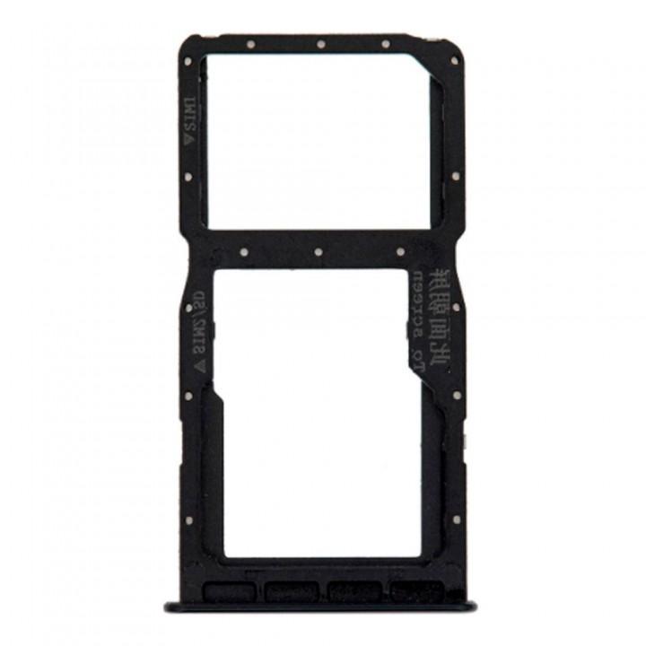 Держатель SIM-карты для Huawei P30 Lite (Midnight black) (Original PRC)