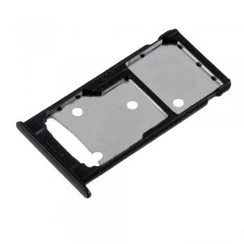 Держатель SIM-карты для Huawei Enjoy 7 Plus (Black) (Original PRC)