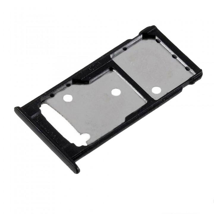 Держатель SIM-карты для Huawei Nova Lite Plus (Black) (Original PRC)