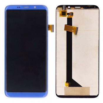 Дисплей BluBoo S8 с тачскрином (Blue)