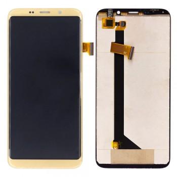 Дисплей BluBoo S8 с тачскрином (Gold)