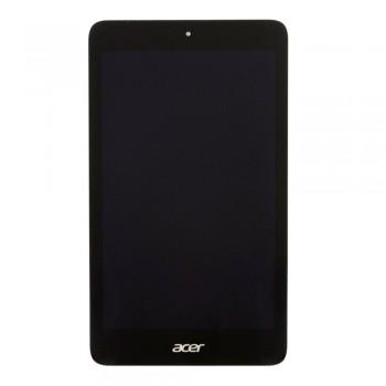 Дисплей Acer Iconia B1-750 с тачскрином (Black) в рамке