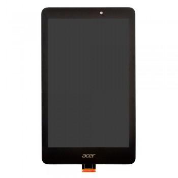 Дисплей Acer Iconia B1-810 с тачскрином (Black) в рамке