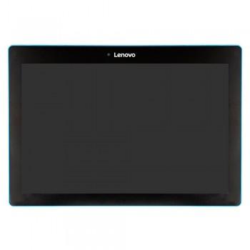 Дисплей Lenovo 10 TB-X103F с тачскрином (Black) в рамке