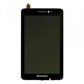 Дисплей Lenovo IdeaTab S5000 с тачскрином (Black) в рамке