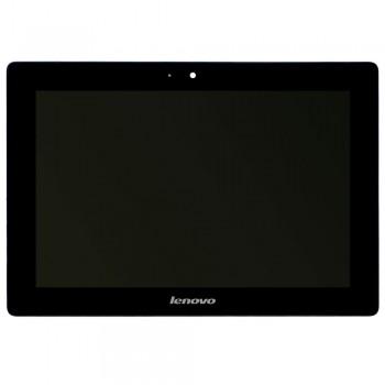 Дисплей Lenovo IdeaTab S6000 с тачскрином (Black) в рамке