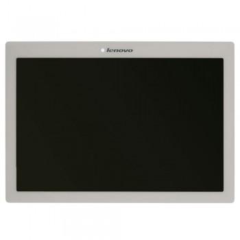 Дисплей Lenovo Tab 2 A10-70F с тачскрином (White)