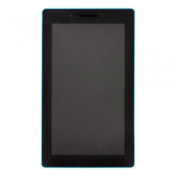 Дисплей Lenovo Tab 3-710 Essential с тачскрином (Black) в рамке