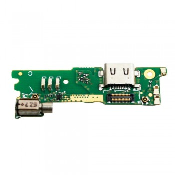 Нижняя плата Sony G3112 Xperia XA1 с разъемом зарядки и микрофоном