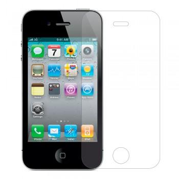 Защитное стекло Tempered Glass 2.5D для iPhone 4 / iPhone 4s