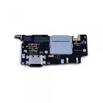 Нижняя плата Xiaomi Mi5c с разъемом зарядки и микрофоном