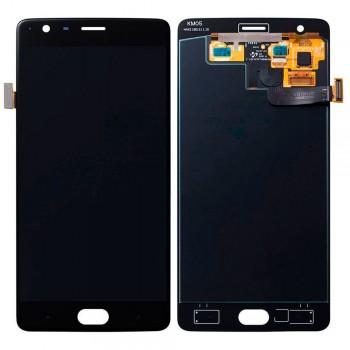 Дисплей OnePlus 3 / 3T с тачскрином (Black) OLED