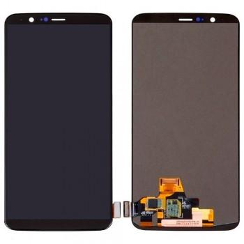 Дисплей OnePlus 5T с тачскрином (Black) OLED