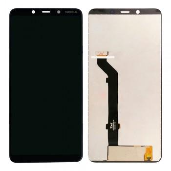 Дисплей Nokia 3.1 Plus с тачскрином (Black)