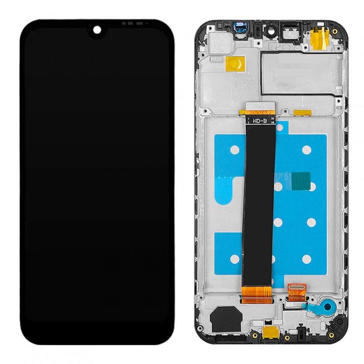 Дисплей Huawei Y5 2019 с тачскрином (Black) Original PRC в рамке