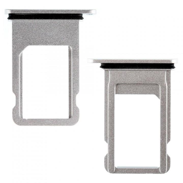Держатель SIM-карты для Apple iPhone SE (2020) (Silver) (Original PRC)
