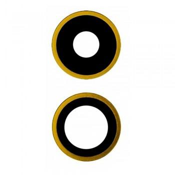 Стекло камеры для iPhone 11 (Yellow)