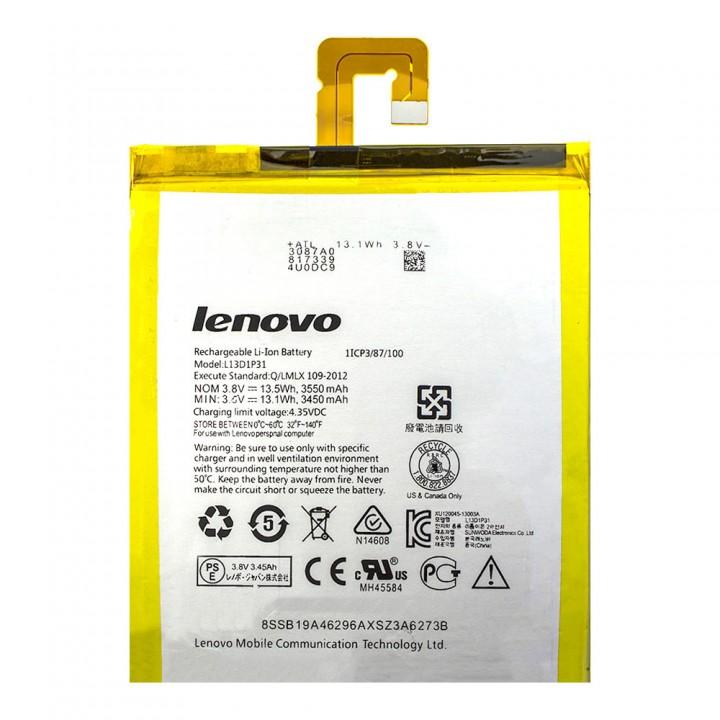 Аккумулятор Lenovo L13D1P31 для Lenovo A3500 / S5000 / A7-10 / A7-20 / A7-30 (3450 mAh) version 1