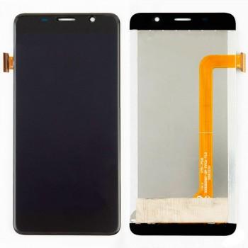Дисплей Bravis S500 / Leagoo M5 Edge с тачскрином (Black)