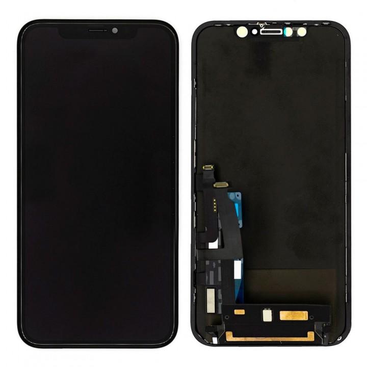 Дисплей iPhone XR с тачскрином (Black) Original PRC в рамке