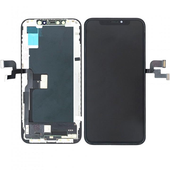 Дисплей iPhone XS с тачскрином (Black) Hard Oled в рамке