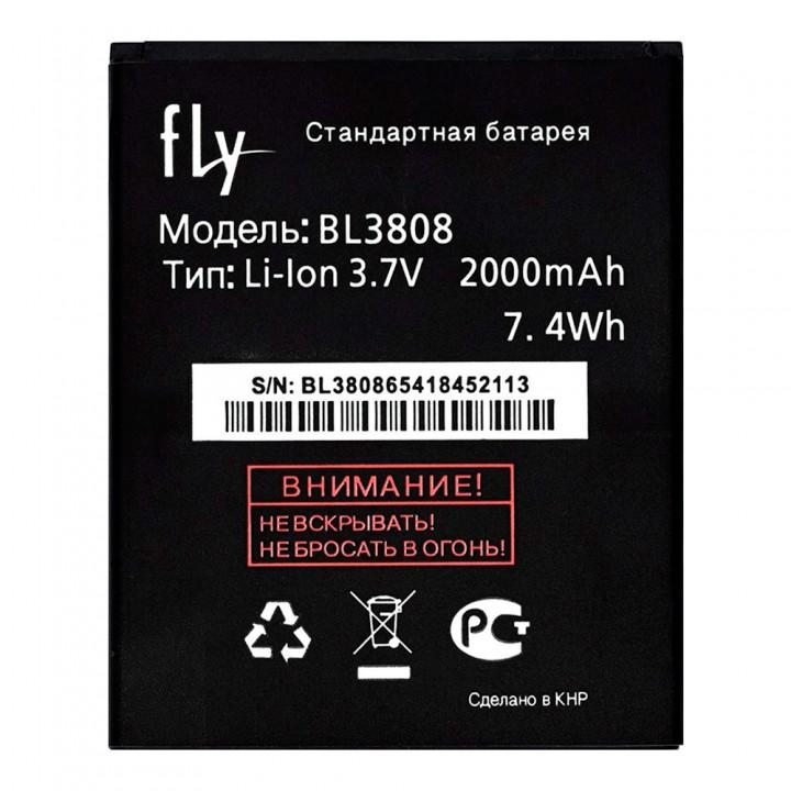 Аккумулятор Fly BL3808 для Fly IQ456 ERA Life 2 (2000 mAh)