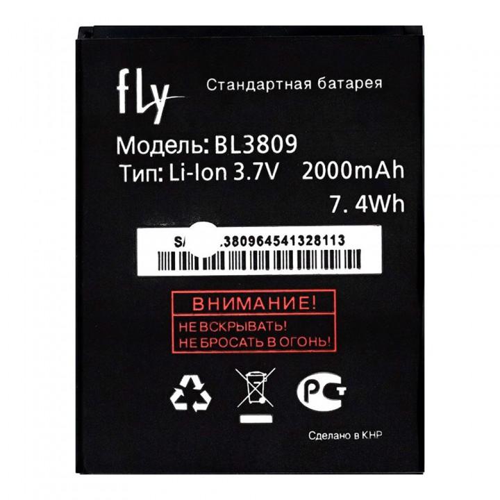 Аккумулятор Fly BL3809 для Fly IQ458 Evo Tech 2 / IQ459 Quad EVO Chic 2 (2000 mAh)