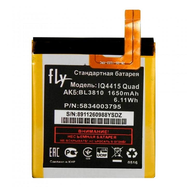 Аккумулятор Fly BL3810 для Fly IQ4415 Era Style 3 (1650 mAh)