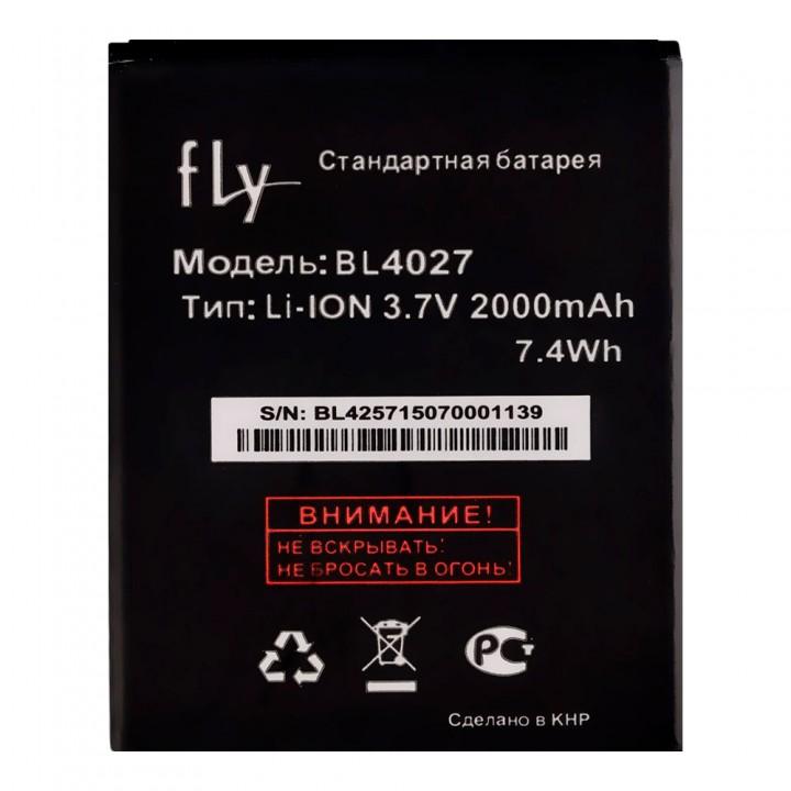 Аккумулятор Fly BL4027 для Fly IQ4410 Quad Phoenix (1800 mAh)