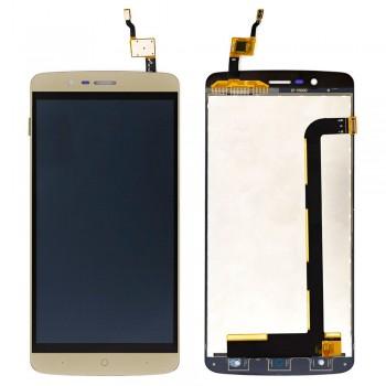 Дисплей Elephone P8000 с тачскрином (Gold)